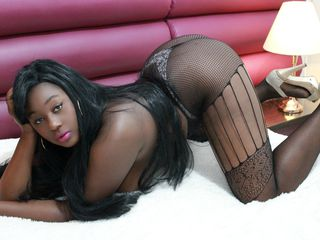 YessiEBONY Big Tits!-i am a girl that